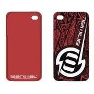 Contour Design Hardcase Animal Lightning iPhone (4/ 4S), rot