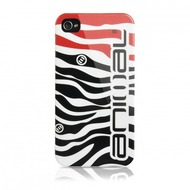 Contour Design Hardcase Animal Zebra iPhone (4/ 4S), schwarz