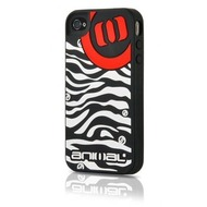 Contour Design Softcase Animal Zebra iPhone (4), schwarz