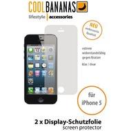 Cool Bananas TheFilm Displayschutzfolie (2 Stück) für iPhone 5, UltraClear