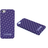 Cool Bananas CoverLia Backcover Hülle für iPhone 5/ 5S/ SE, Purple Dots
