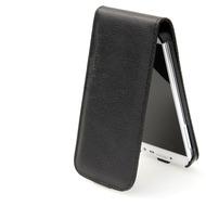 Cool Bananas Flip nTalk Klapp Leder - Tasche für Samsung Galaxy S4, Schwarz
