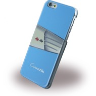 Corvette C1 Classic - Leder Hard Cover für Apple iPhone 6 Plus/ 6S Plus, hellblau