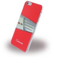 Corvette C1 Classic - Leder Hard Cover für Apple iPhone 6 Plus/ 6S Plus, rot