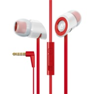 Creative In-Ear Stereo Headset Hitz MA350, rot-weiß