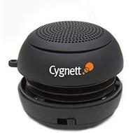 Cygnett GrooveBassball Mini Speaker, schwarz
