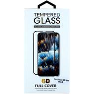 Cyoo Displayschutzglas Panzerglas Glas 6D für Apple iPhone XS Max, Schwarz