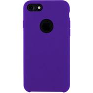 Cyoo Premium Liquid Silicon Hard Cover für iPhone 7 /  8, Lila