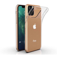 Cyoo Silikon Case für iPhone 11 Pro, Transparent