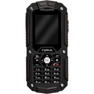 Cyrus CM6 - Outdoor Handy - Dual Sim - schwarz