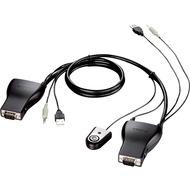 D-Link 2-Port USB KVM + Audio Switch - (DKVM-222)