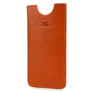 DC Chest Montone Ledertasche für iPhone 5/ 5S/ SE, tobacco-weiß