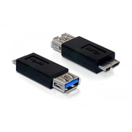 DeLock Adapterstecker Micro-USB 3.0 <> USB 3.0