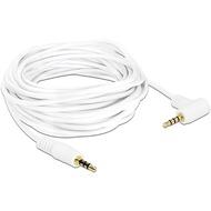 DeLock Kabel Klinke 4 Pin 3,5 mm gewinkelt 5,0 m weiß