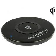 DeLock Mobile Qi kabellose Schnelllade-Station 7,5 + 10 W schwarz