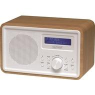 Denver DAB-35 Radio mit DAB+/ PLL, holzoptik