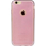 DIAMOND Cover Smooth Glossy Crystal for iPhone 7 pink metallic