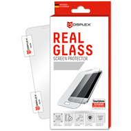 Displex Displex, Real Glass 0,33mm + Rahmen, Apple iPhone 6, 7, 8, Displayschutzglasfolie