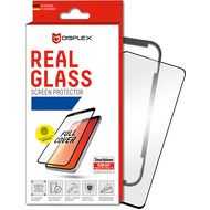 Displex Displex, Real Glass 3D 0,33mm+Hülle, Samsung Galaxy S10+, Displayschutzglasfolie, Fingerabdruck Sensor Untersützung