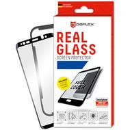 Displex Displex, Real Glass 3D Max 0,33mm + Rahmen, Samsung Galaxy A40, Panzerglas Schutzfolie, schwarz