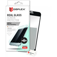 Displex Real Glass 3D Apple iPhone 6/ 7/ 8 Plus schwarz Case-Friendly