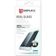 Displex Vollflächiges Displayschutzglas für iPhone 7, Weiß