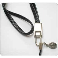 Diva Berlin Leather Long Strap Black