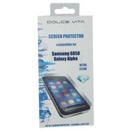 Dolce Vita Antifinger Displayschutzfolie, Samsung G850F Galaxy Alpha