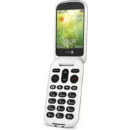 Doro 6050, champagner-weiß mit Telekom Vertragsverlängerung MagentaMobil M mit Smartphone Vertrag