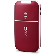 Doro PhoneEasy 410gsm, burgundy red