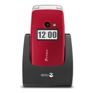 Doro Primo 413, rot mit Vodafone Red S Sim Only Vertrag