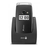 Doro Primo 413, schwarz mit Vodafone Vertragsverlängerung Smart L Basic Vertrag