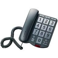 DSC-Zettler Großtastentelefon NOT-Tel 4, titanium