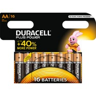 Duracell Batterie Alkaline - Mignon - AA - LR06 - 1.5V Plus Power - (16-Pack)
