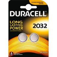 Duracell Batterie Lithium - Knopfzelle - CR2032 - 3V Electronics - (2-Pack)