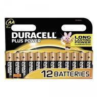 Duracell Battery Alkaline AA 12er Plus Power