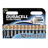 Duracell Battery Alkaline AA 12er Ultra Power