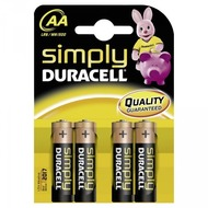 Duracell Battery Alkaline AA 4er Simply