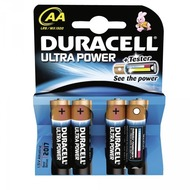 Duracell Battery Alkaline AA 4er Ultra Power