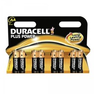 Duracell Battery Alkaline AA 8er Plus Power