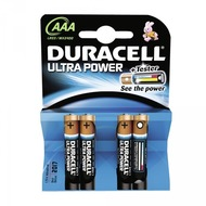 Duracell Battery Alkaline AAA 4er Ultra Power