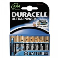 Duracell Battery Alkaline AAA 8er Ultra Power