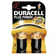 Duracell Battery Alkaline C 2er Plus Power