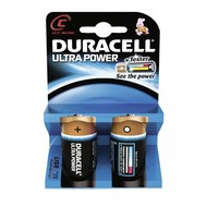 Duracell Battery Alkaline C 2er Ultra Power