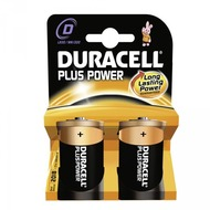 Duracell Battery Alkaline D 2er Plus Power