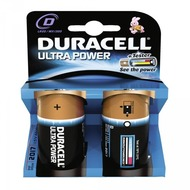 Duracell Battery Alkaline D 2er Ultra Power