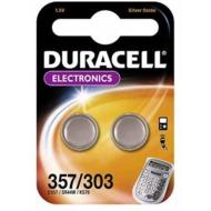 Duracell D357 /  D303 Electronics 2er Blister,