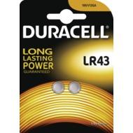 Duracell LR 43 Electronics 2er Blister,