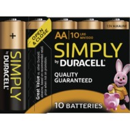 Duracell MN 1500 Simply Mignon 10 St,