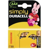 Duracell MN 2400 Simply Micro 8er Blister
